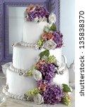 wedding cake | Shutterstock . vector #135838370