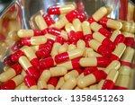 medicine and healthy. drugs... | Shutterstock . vector #1358451263