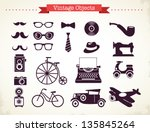 vintage hipster objects...