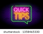 set of colorful vector badges.... | Shutterstock .eps vector #1358465330