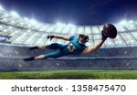 american football. american... | Shutterstock . vector #1358475470