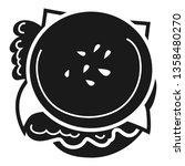 tasty burger icon. simple... | Shutterstock .eps vector #1358480270
