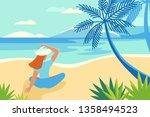vector illustration in trendy... | Shutterstock .eps vector #1358494523