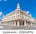 gran teatro de la habana. big... | Shutterstock . vector #1358518796