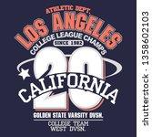 california freedom sport wear t ... | Shutterstock .eps vector #1358602103