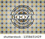 booze arabic badge. arabesque... | Shutterstock .eps vector #1358651429