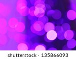 Blurred Lilac Lights Abstract...