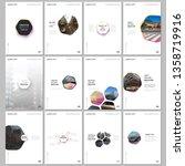 minimal brochure templates with ... | Shutterstock .eps vector #1358719916