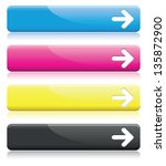 a set of cmyk arrow line banners | Shutterstock .eps vector #135872900