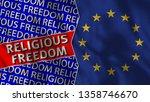 european union and religious... | Shutterstock . vector #1358746670