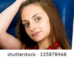 picture of the young  beautiful ... | Shutterstock . vector #135878468