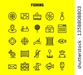 fishing line icon pack for...