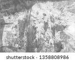 black gray white marble  paint... | Shutterstock . vector #1358808986