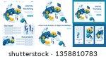 set template article  landing... | Shutterstock .eps vector #1358810783