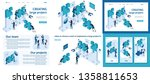 set template article  landing... | Shutterstock .eps vector #1358811653