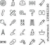 thin line vector icon set  ...   Shutterstock .eps vector #1358822180