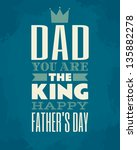 Greeting card template for Father's Day.