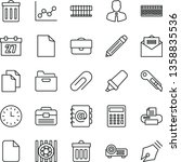 thin line vector icon set  ... | Shutterstock .eps vector #1358835536