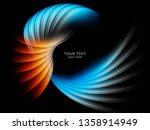 modern bright background | Shutterstock . vector #1358914949