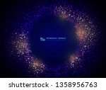 technology particle circle... | Shutterstock .eps vector #1358956763