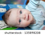 little baby girl | Shutterstock . vector #135898208