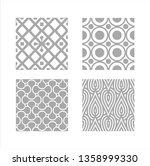 glass frosted design | Shutterstock .eps vector #1358999330