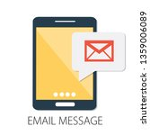 vector illustration of email... | Shutterstock .eps vector #1359006089