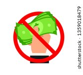 stop bribery and corruption... | Shutterstock .eps vector #1359018479