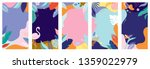 collection of abstract... | Shutterstock .eps vector #1359022979