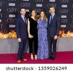 new york  ny   april 3  2019  d....   Shutterstock . vector #1359026249