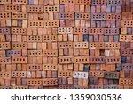 stack of bricks for...   Shutterstock . vector #1359030536
