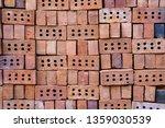 stack of bricks for...   Shutterstock . vector #1359030539