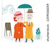 happy family. vector... | Shutterstock .eps vector #1359036059