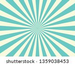 blue sunburst pattern...   Shutterstock .eps vector #1359038453