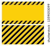 black and yellow caution tape.... | Shutterstock .eps vector #1359053099