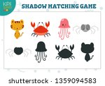 set for find the correct shadow ... | Shutterstock .eps vector #1359094583