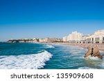 View Of Biarritz City Center ...