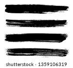 horizontal brush stroke stripes | Shutterstock .eps vector #1359106319