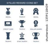reward icons. trendy 9 reward... | Shutterstock .eps vector #1359118439