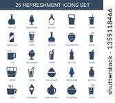 refreshment icons. trendy 25... | Shutterstock .eps vector #1359118466