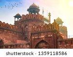 historic red fort delhi at... | Shutterstock . vector #1359118586