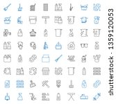 cleaner icons set. collection... | Shutterstock .eps vector #1359120053