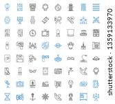 old icons set. collection of... | Shutterstock .eps vector #1359133970