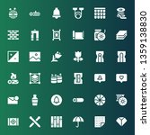 material icon set. collection... | Shutterstock .eps vector #1359138830
