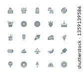 tasty icon set. collection of... | Shutterstock .eps vector #1359139586