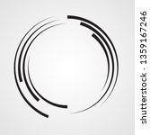 lines in circle form . spiral... | Shutterstock .eps vector #1359167246