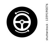 steering icon template | Shutterstock .eps vector #1359190076