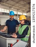 female workplace safety... | Shutterstock . vector #1359217376