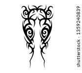 tatoo tribal shoulder design...   Shutterstock .eps vector #1359240839