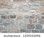 stone wall texture background | Shutterstock . vector #1359242096